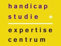 Logo handicap + studie, expertisecentrum