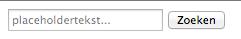 screenshot van placheholdertekst in een formulierveld met onvoldoende contrast
